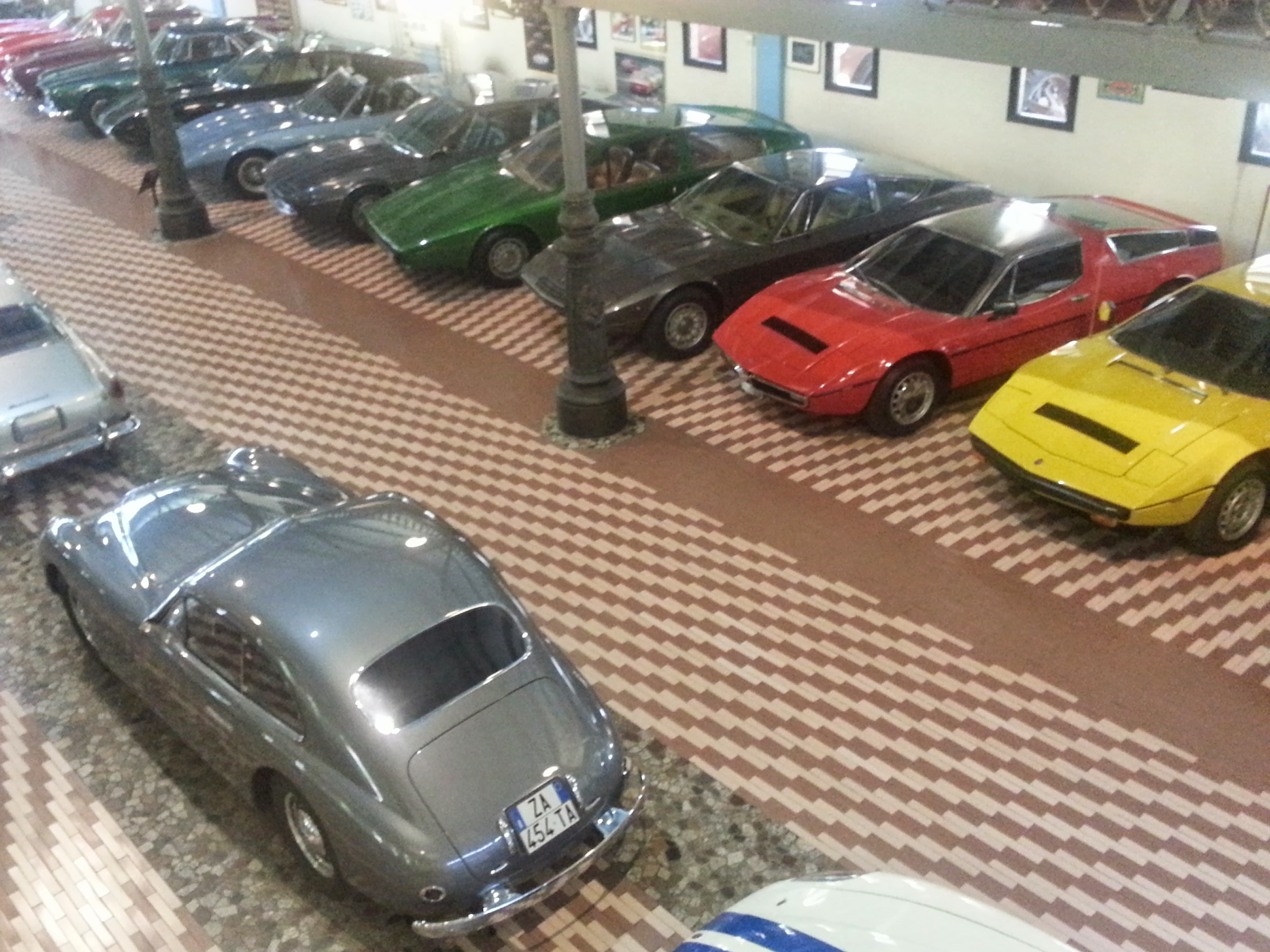 Maserati collection in modena